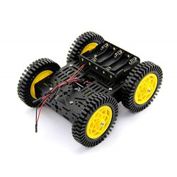 Kit chassis robot roulant full metal à Monter