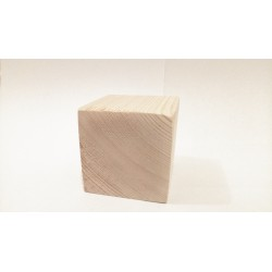 Cube Bois Pin 58mm3