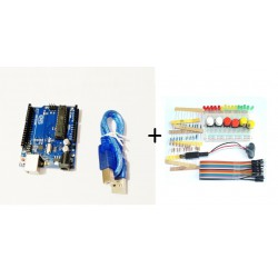 Kit électronique pour débutant avec arduino uno