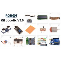 Kit débutant Arduino cocotix V3.0
