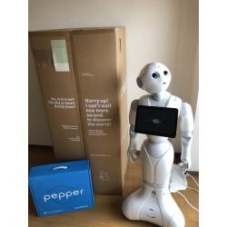 Robot Pepper Humanoid  softbank aldebaran