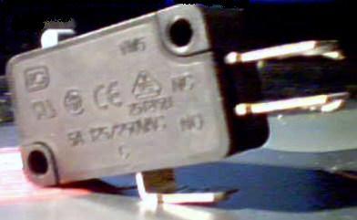 Image d'un microrupteur