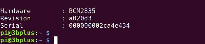 info sur le broadcom du Raspberry Pi 3B+