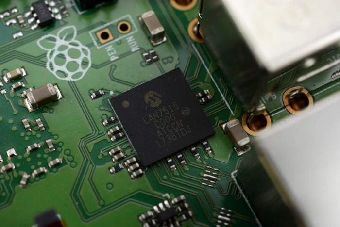 raspberry pi 3b +LAN7515