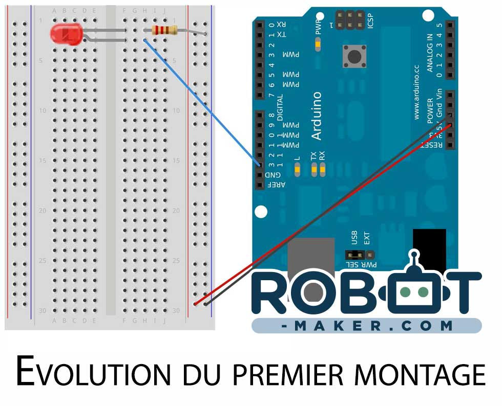 montage arduino simple alternative