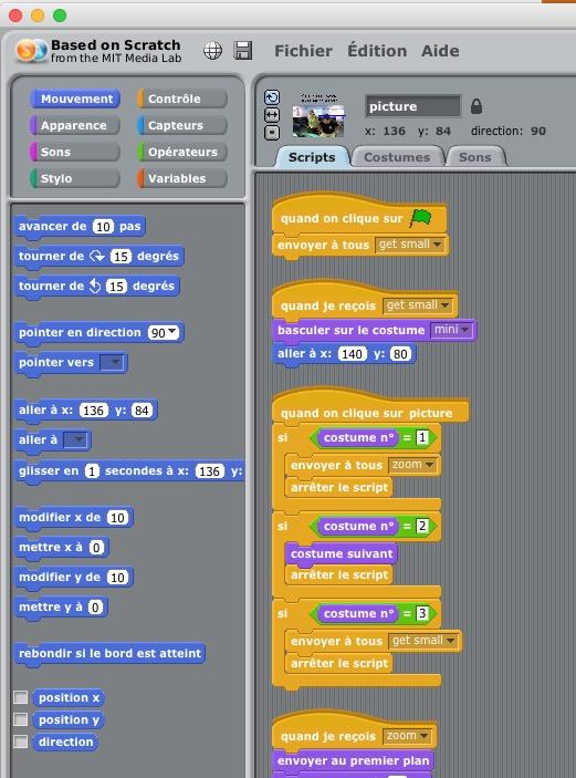 programmation graphique arduino