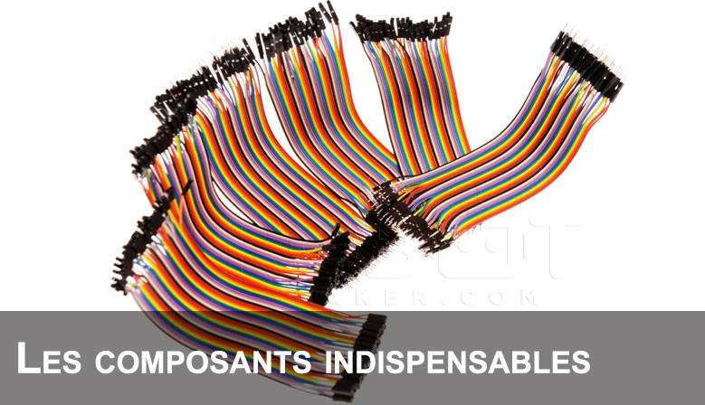 Jumper et divers composants électroniques