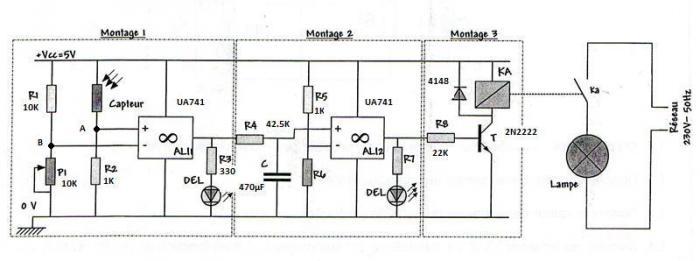 interrupteur cr u00e9pusculaire v2  hyper simple