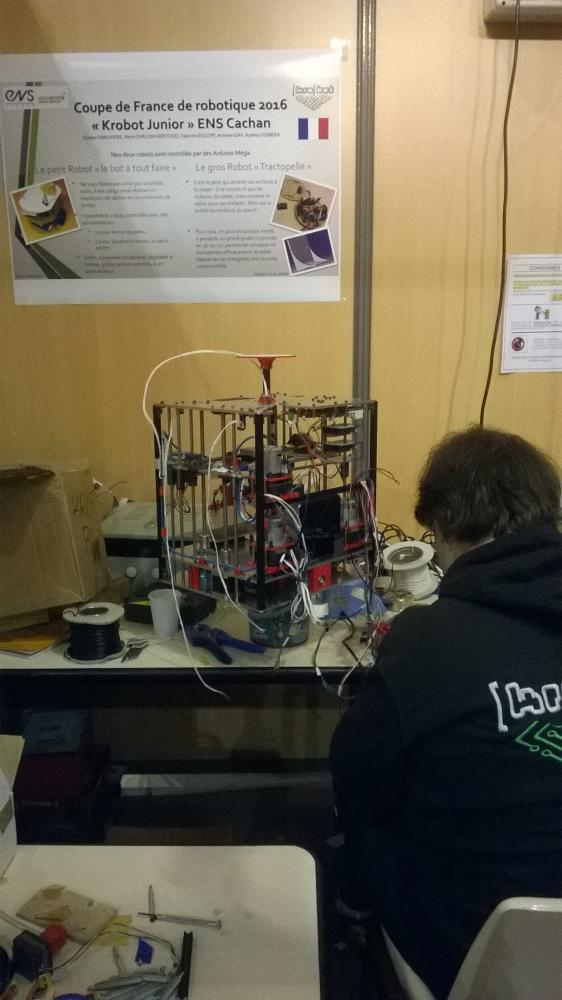 Coupe de france de robotique 2016 coupe de france de robotique robot maker - Coupe de france robotique ...