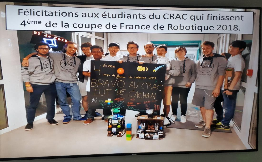 La coupe de france de robotique 2018 coupe de france de robotique robot maker - Coupe de france robotique ...