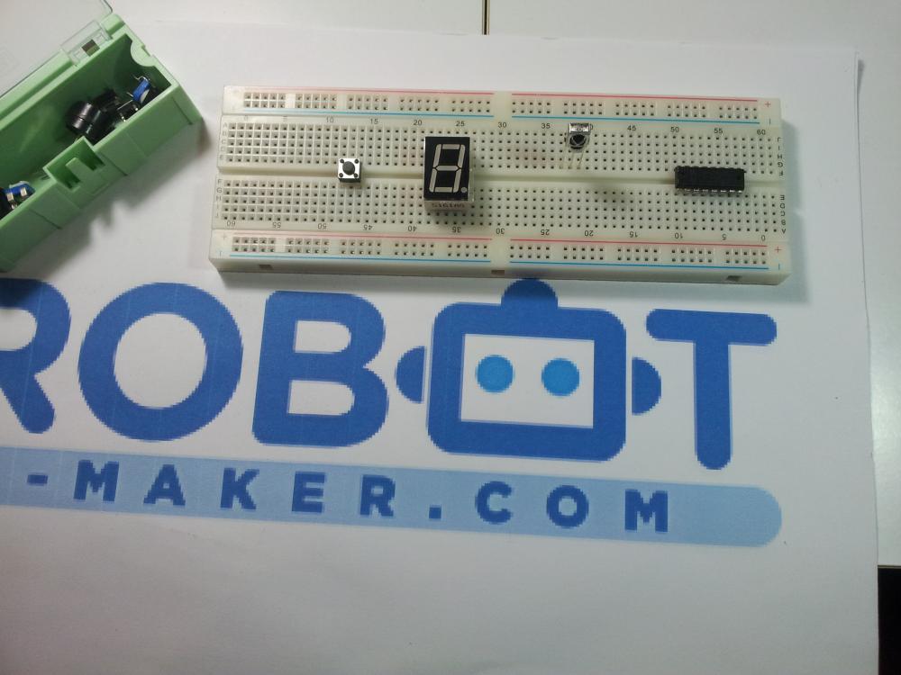 utiliser une plaque d 39 essai ou breadboard electronique tutoriels robot maker. Black Bedroom Furniture Sets. Home Design Ideas