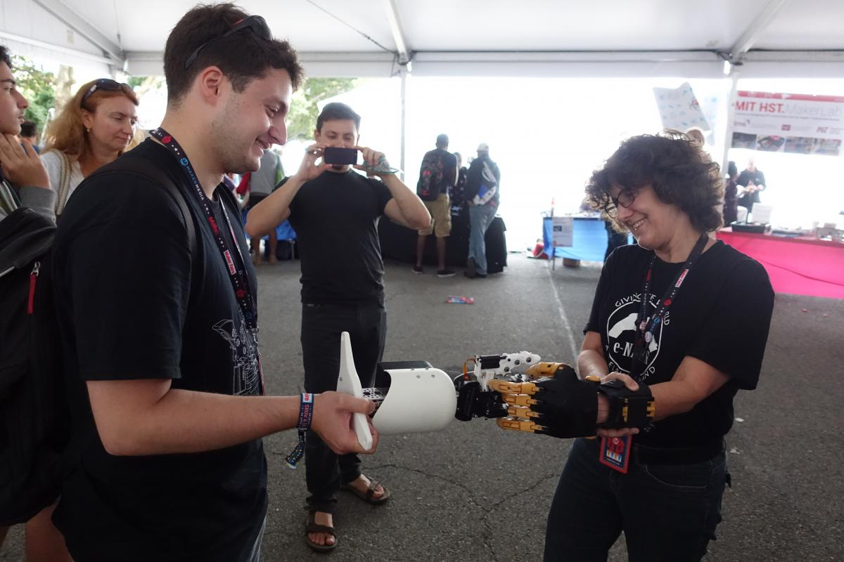 BioGrip 3.1 - Maker Faire New York - Enable - 2.JPG