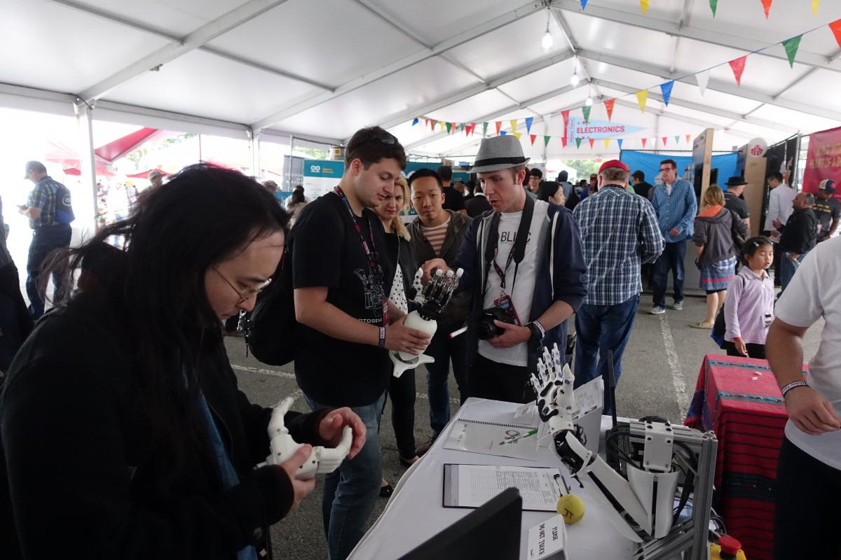 BioGrip 3.1 - Maker Faire New York - 2.JPG