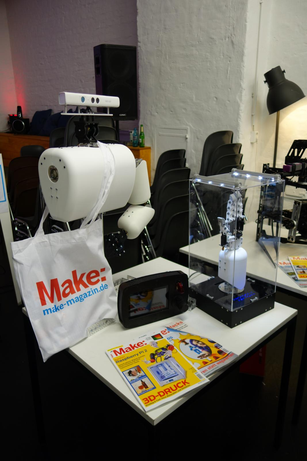 BioGrip 3.1 - Maker Faire Berlin - Kick-off.JPG