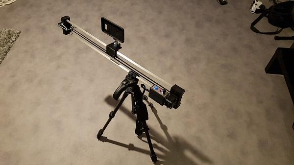 Slider Pour Smartphone Et Caméra Bras Robots Pinces