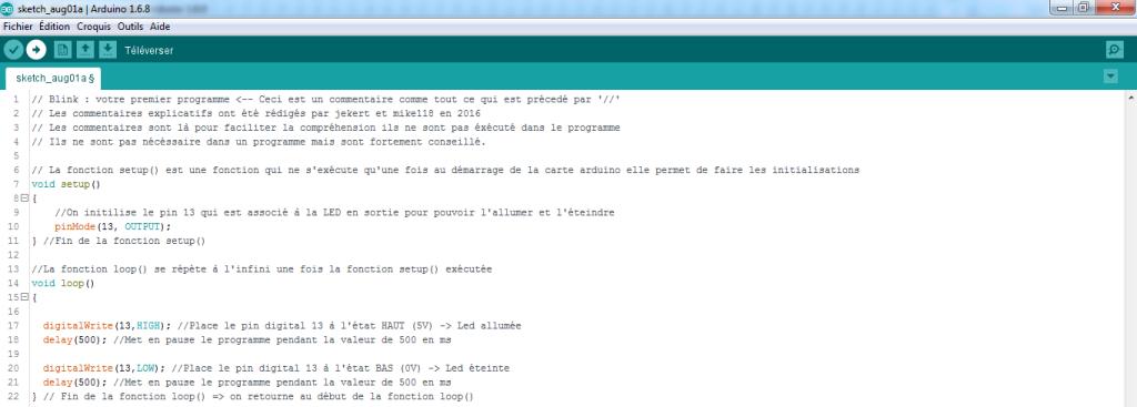 programme V0