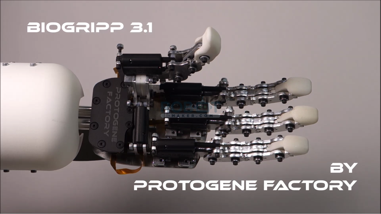 BioGripp 3.1 - Main robotique