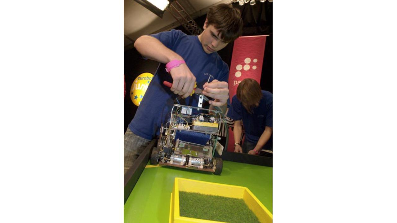 Robot champion de Belgique 2006 !