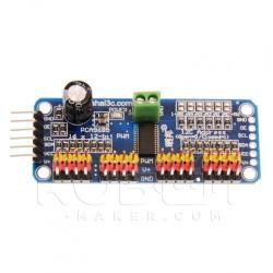 Driver I2C pour 16 servomoteurs PCA9685