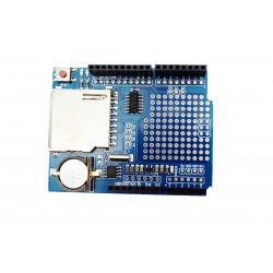 Shield carte SD+ RTC pour aduino uno