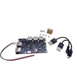 UPS +HUB USB pour Raspberry Pi