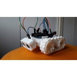 SMARS robot à chenille imprimé 3D + arduino