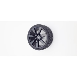 Roue 65mm avec pneu