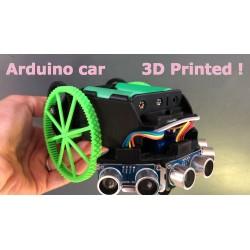 Voiture Autonome Imprimée 3D