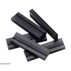 Lot de boitier de connecteur double rangée 2.54mm