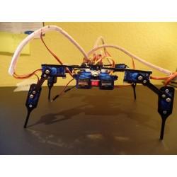Kit robot quadrupède métal