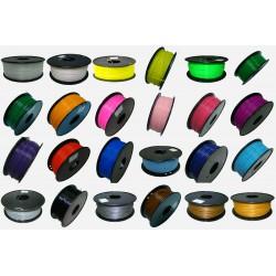 Filament PLA Standard 1KG 24 couleurs au choix