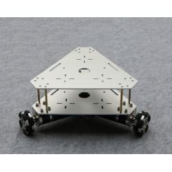 Châssis omniwheel MD36 3 roues
