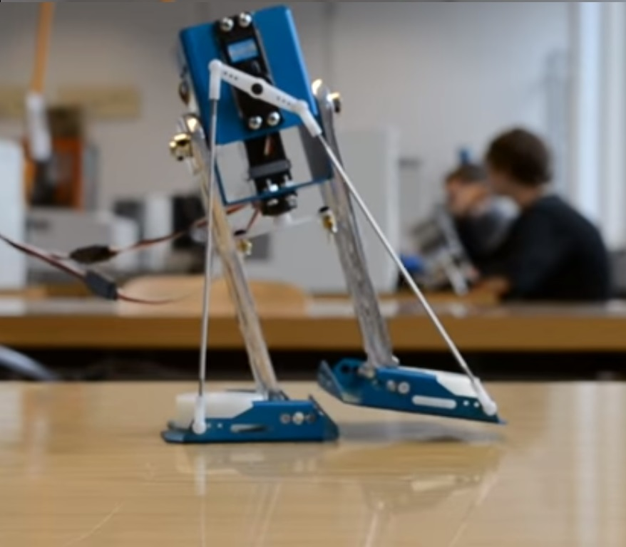 Robot bipède 2 DOF