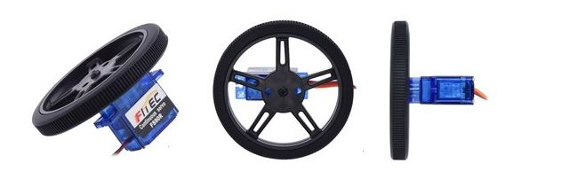 roue servo