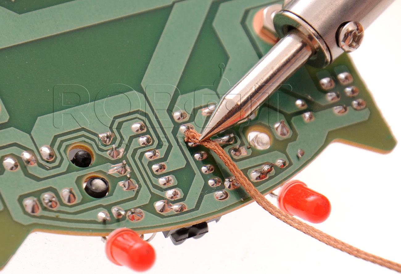 dessouder des composants électroniques