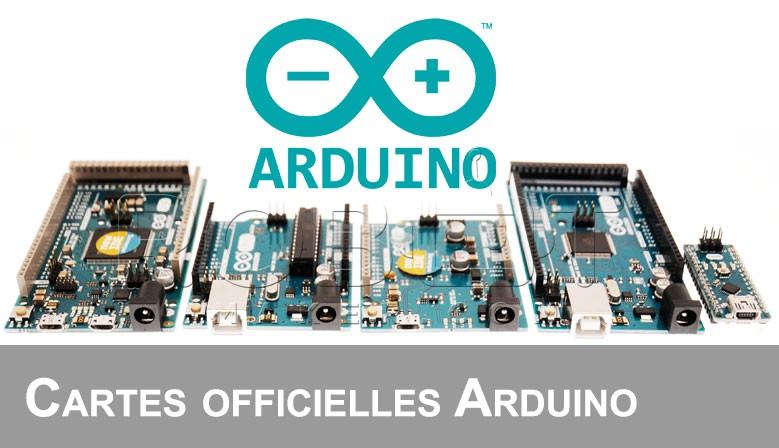Distributeur cartes officielles arduino